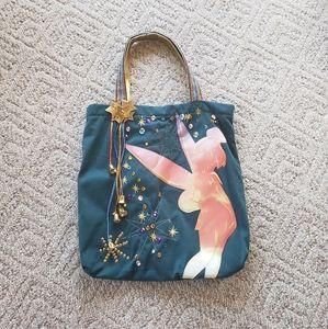 DISNEY Tinker Bell Sparkle Tote Bag